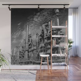 Bethlehem Steel Blast Furnace 9 Wall Mural
