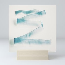 Abstract forms Mini Art Print