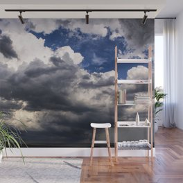 Storm Approaching Wall Mural