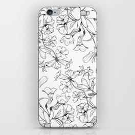 Native Florida Flowers iPhone Skin