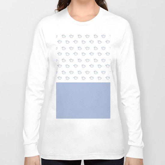 Ducklings light blue Long Sleeve T-shirt