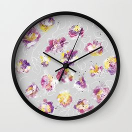 Explosive beauty Wall Clock