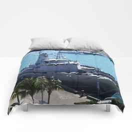 Bahamas Cruise Series 111 Comforters