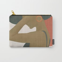 Lady in a Black Dress Carry-All Pouch