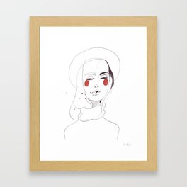 Joanna Framed Art Print