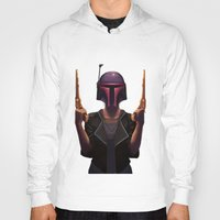 boba Hoodies featuring Boba by Yewot