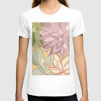 succulents T-shirts featuring Succulents by Julia Walters Illustration