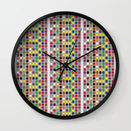 Untitled Four Wall Clock