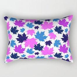 Leaves  in pink Rectangular Pillow