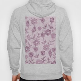 Watercolor Floral VV Hoody