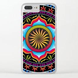 Mandala 5 Clear iPhone Case