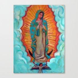 Virgen de Guadalupe por Diego Manuel Canvas Print