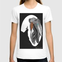 coyote T-shirts featuring Coyote Moon by Christina Dugger