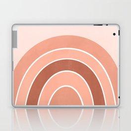 Rainbow arc - neutrals Laptop & iPad Skin