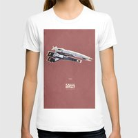 mass effect T-shirts featuring Mass Effect by Simon Alenius