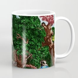 """""""Ruins of the Temple of Diana"""" Landscape Painting by Jeanpaul Ferro Coffee Mug"""