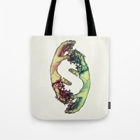 lovers Tote Bags featuring Lovers by FalcaoLucas