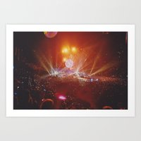 concert Art Prints featuring Concert by Dennis Zorn