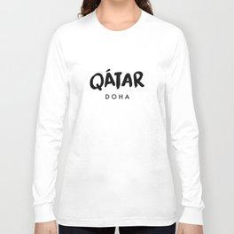 Doha x Qatar Long Sleeve T-shirt