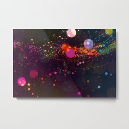 Sparkle night Metal Print