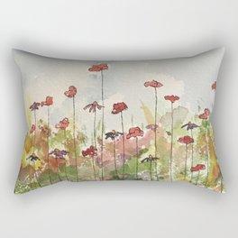 Edging the Garden Rectangular Pillow