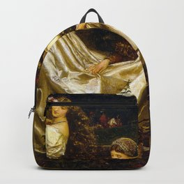 Eleanor Fortescue-Brickdale - The Uninvited Guest Backpack