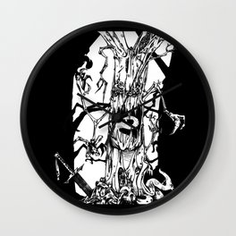 The Hungry Woods Wall Clock