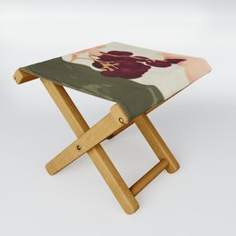Hold me in the Present Folding Stool