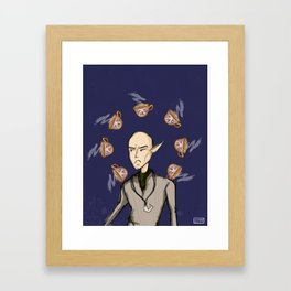Dragon Age: Solas the #1 tea hater Framed Art Print
