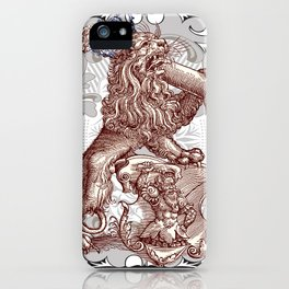 The King of C'ville iPhone Case