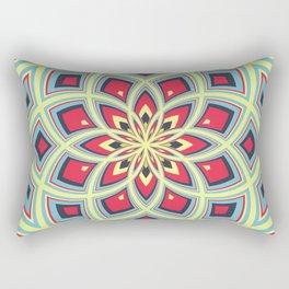 Spiral Rose Pattern D 3/4 Rectangular Pillow