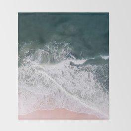 Beaches and Cream Throw Blanket