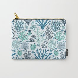 Blue corals Carry-All Pouch
