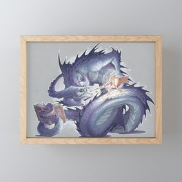 creature Framed Mini Art Print