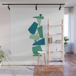 Stack (D) Wall Mural
