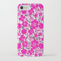 flower pattern iPhone & iPod Cases featuring Flower Pattern  by Sammycrafts