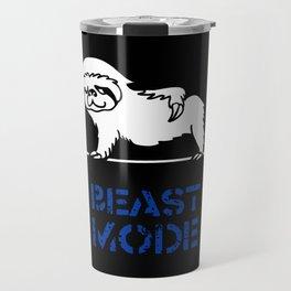 Beast Mode Sloth Travel Mug