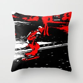 Street Skater Throw Pillow
