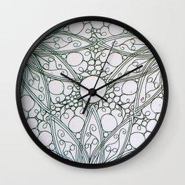 Lace pattern Wall Clock