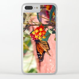 Monarch Beauty Clear iPhone Case