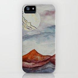 Lightning Moon  iPhone Case