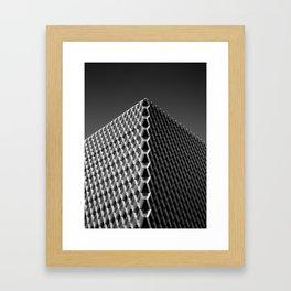 frequency.mono Framed Art Print