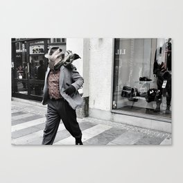The Man from Aarhus  Canvas Print