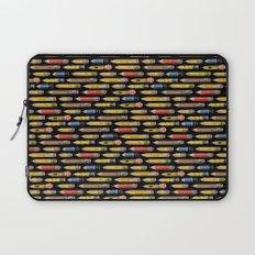 Tiny Pencils Black Laptop Sleeve
