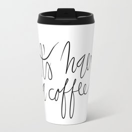 Coffee maniac. Travel Mug