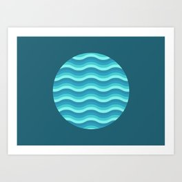 Patterned 3A Art Print