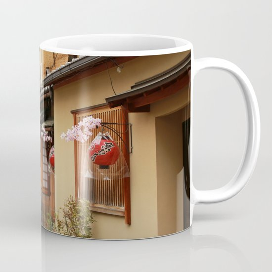 Old Houses in Kyoto Coffee Mug