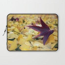 Autumn Sweetgum Leaves Laptop Sleeve