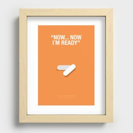 """""""NOW, NOW IM READY"""" - Trainspotting Fanart Poster 2 Recessed Framed Print"""