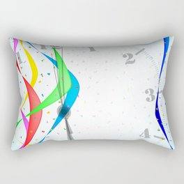 Midnight Celebration Rectangular Pillow